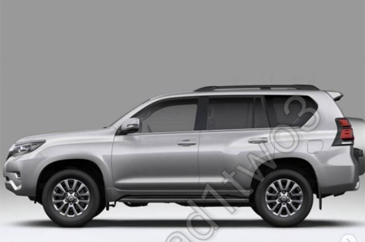 2018 Toyota LandCruiser Prado leaked