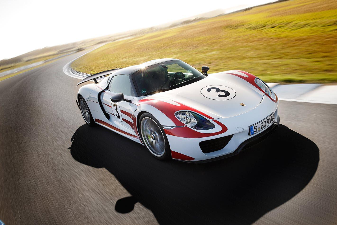 Porsche 918 Spyder review test drive