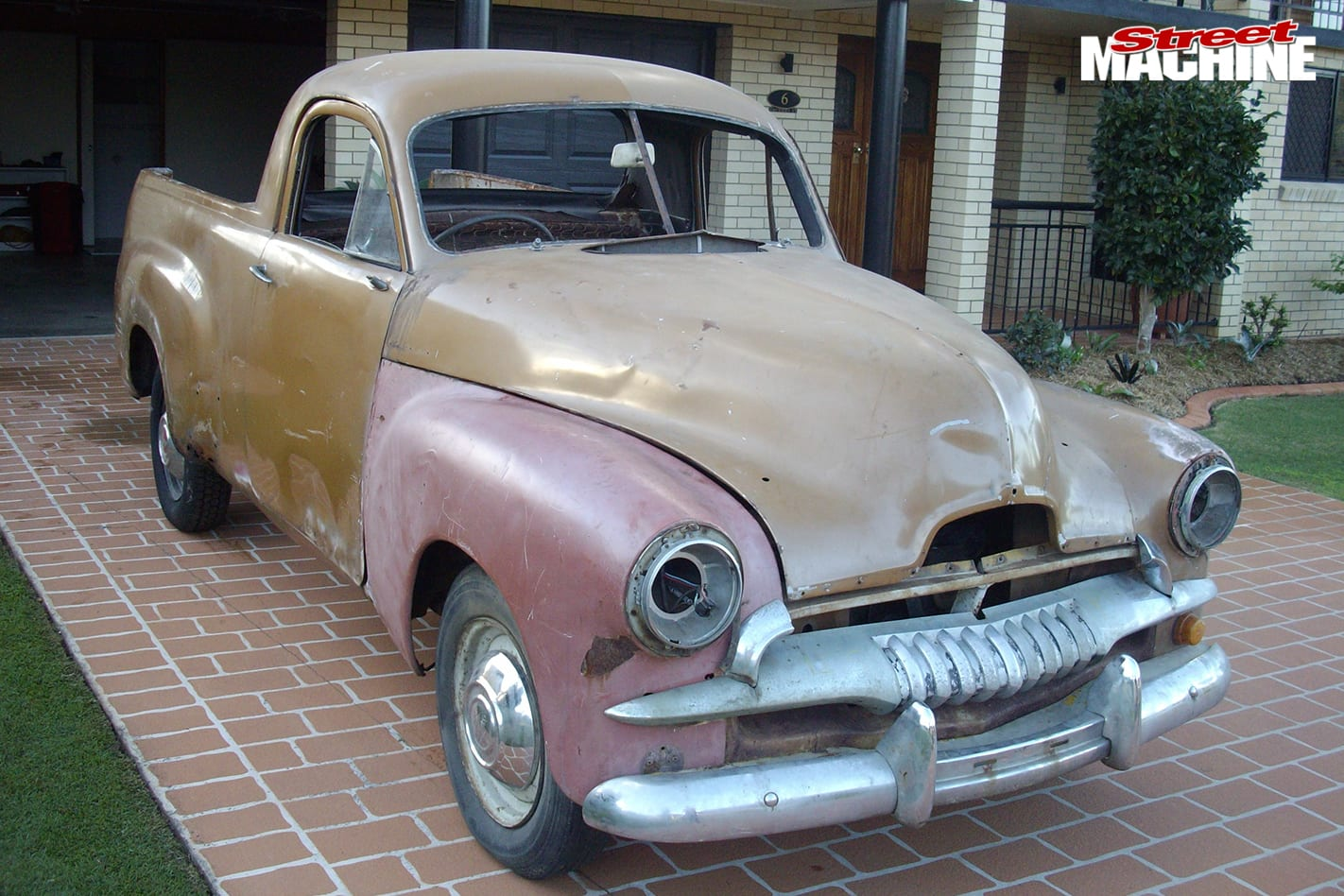 Holden -FJ-ute -before