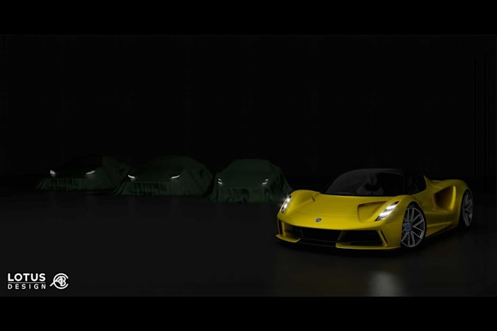 Lotus announces new sports car series