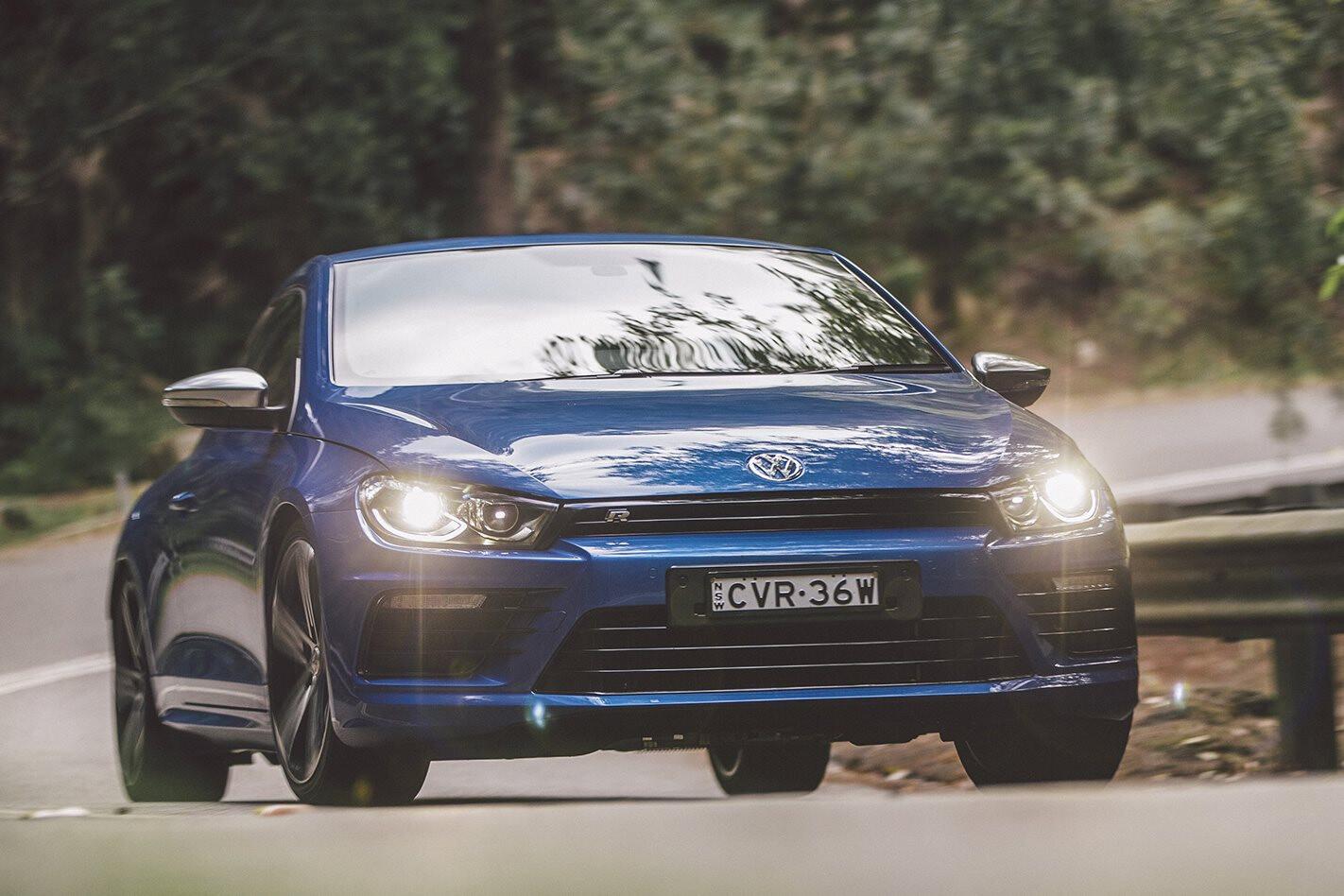 Volkswagen Scirocco R Front 1 Jpg