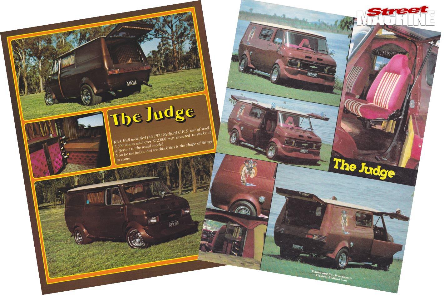 Bedford Van The Judge articles