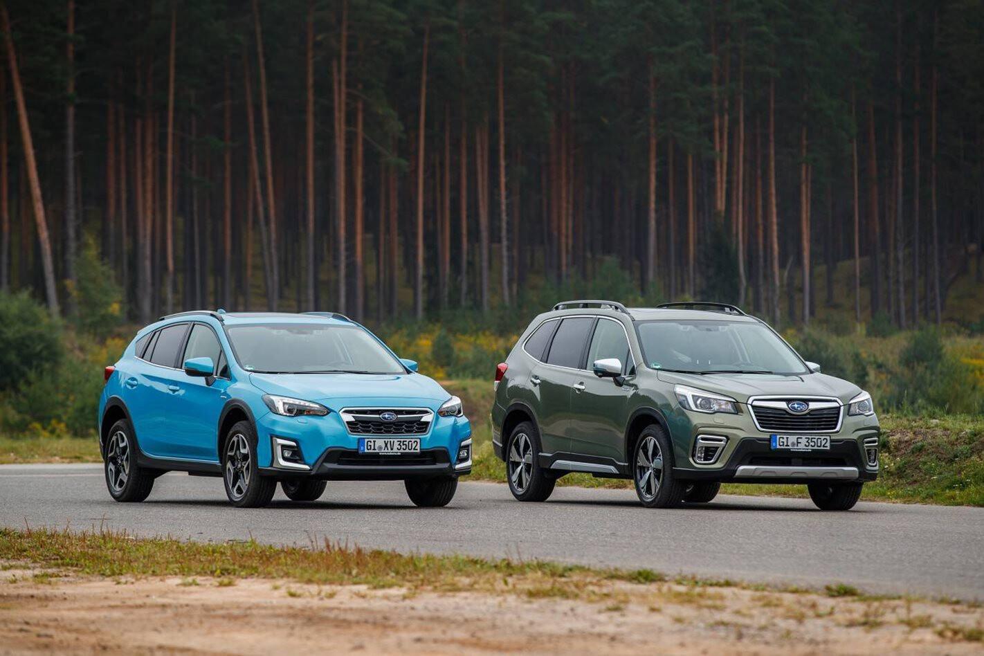 Subaru XV and Forester Hybrid