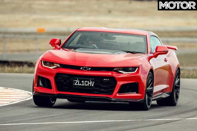 Performance Car Of The Year 2020 Track Test Chevrolet Camaro ZL 1 Track Jpg
