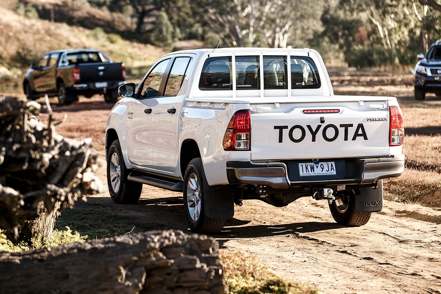 Toyota Hilux Rear Jpg