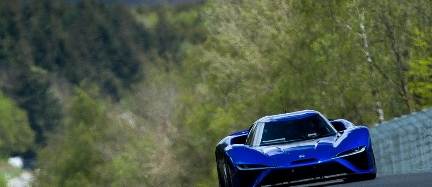Why the electric Nio EP9's Nurburgring lap record matters