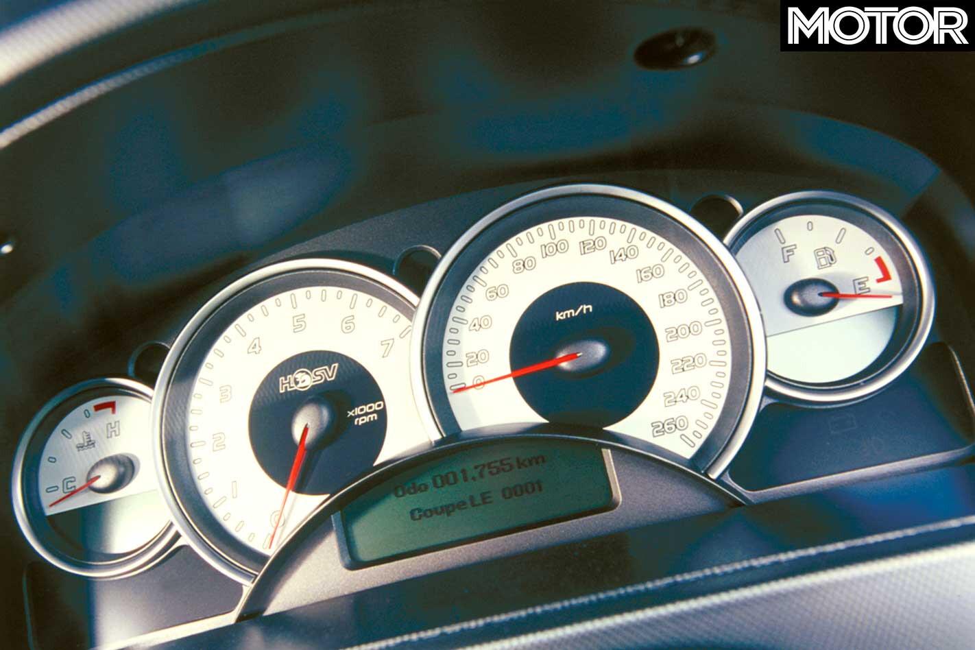 2004 HSV GTO Coupe LE Instrument Gauges Jpg
