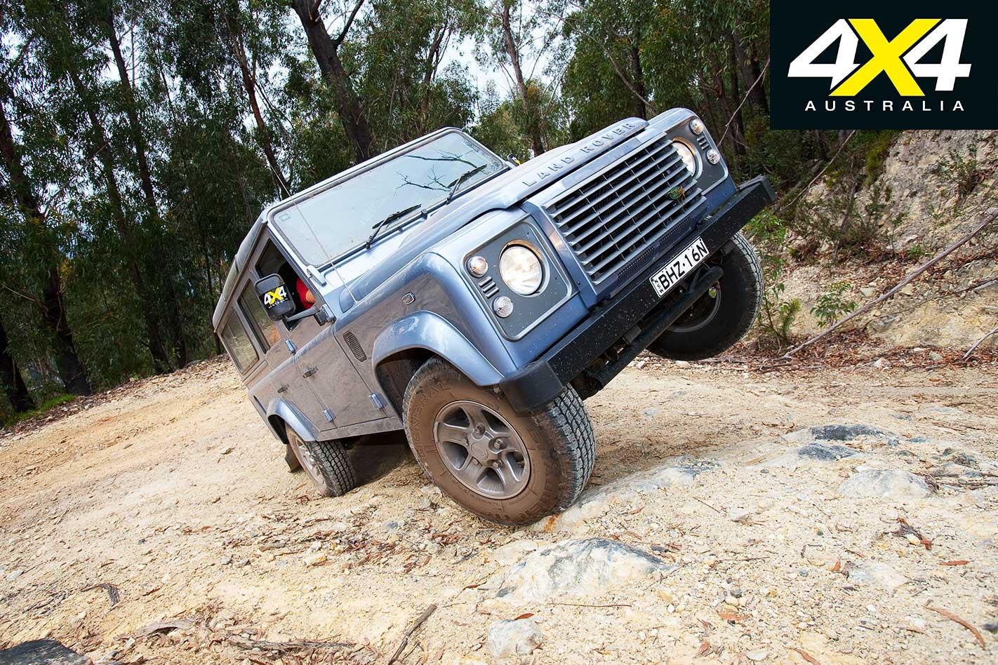 2009 Land Rover Defender Off Road Capability Jpg