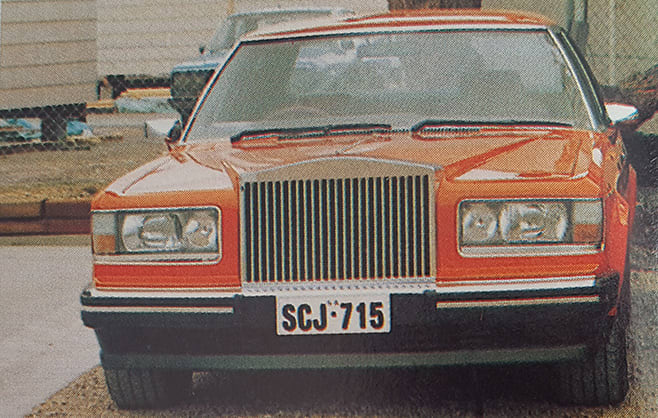 Rolls Royce with Caprice front