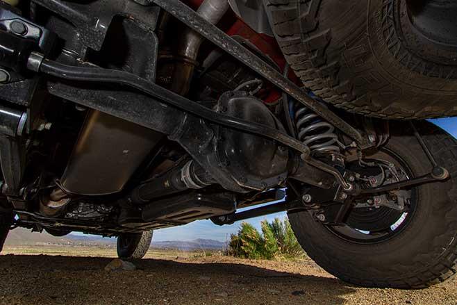 Jeep Gladiator Mojave suspension