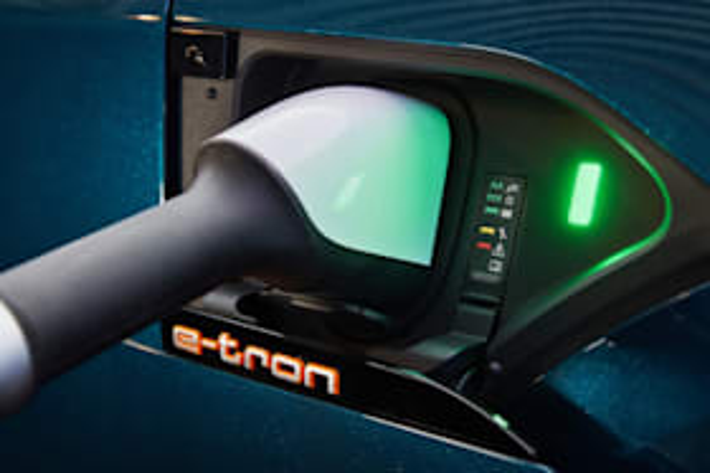 Audi E-Tron fast charger