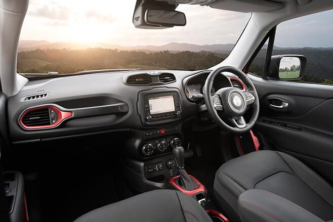 Jeep Renegade Seats