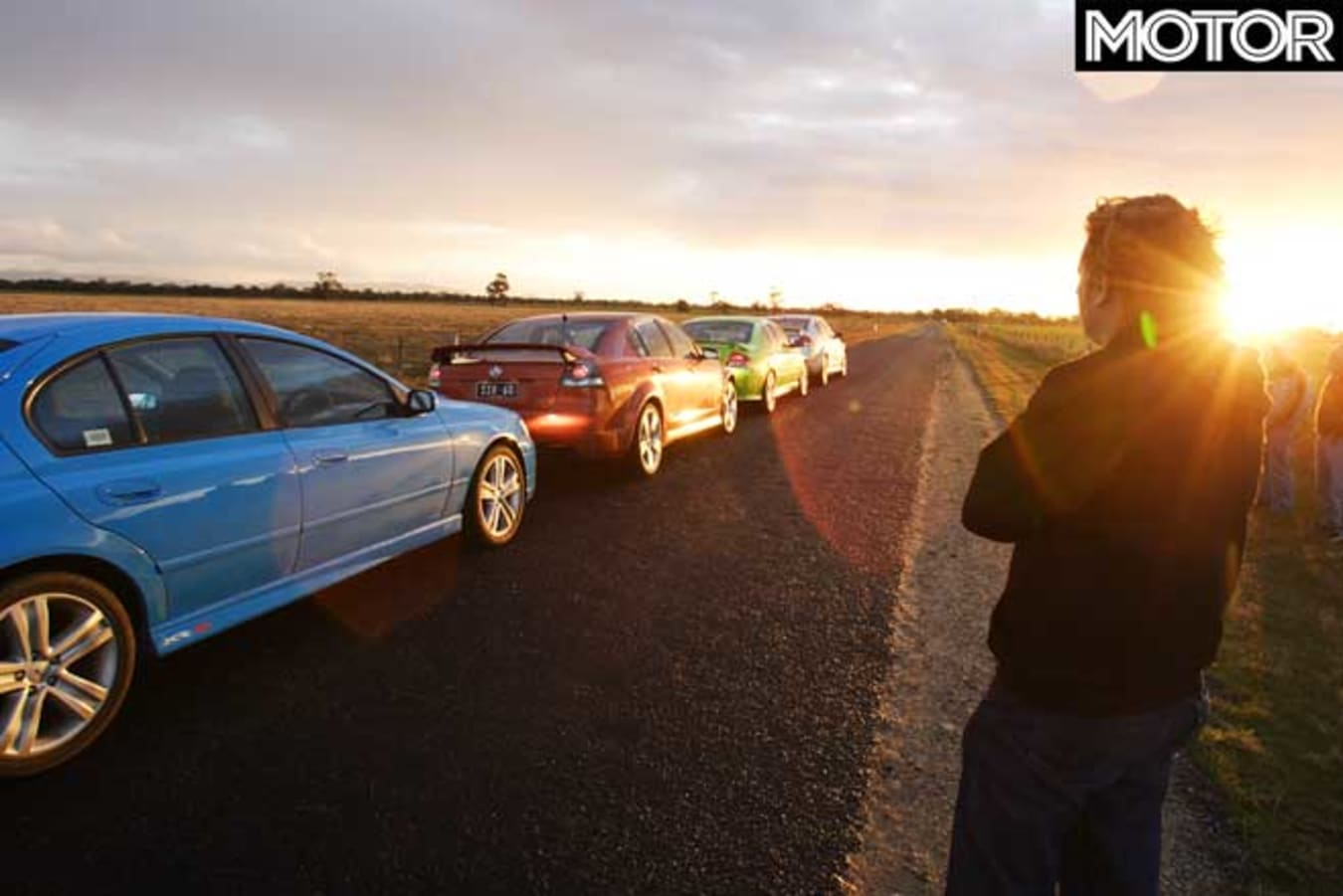 2006 Holden VE Commodore SS SS V Ford Falcon XR 8 XR 6 T Comparison Road Test Jpg