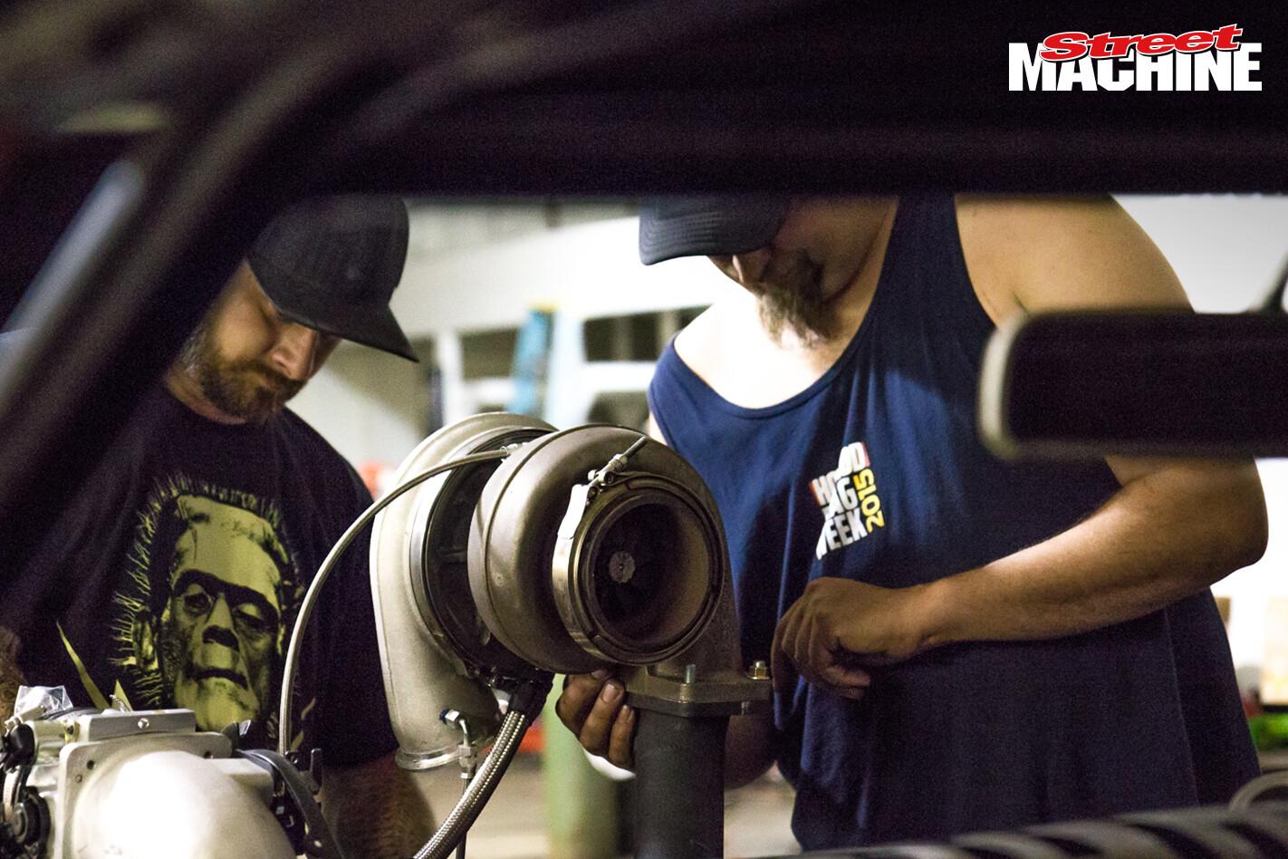 Chevy Chevelle Big Block Twin Turbo Drag Week 6