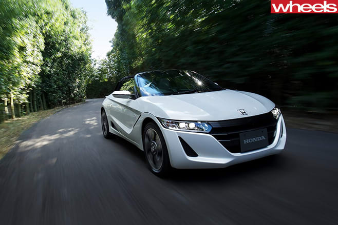 Honda -S660-2015-front -action