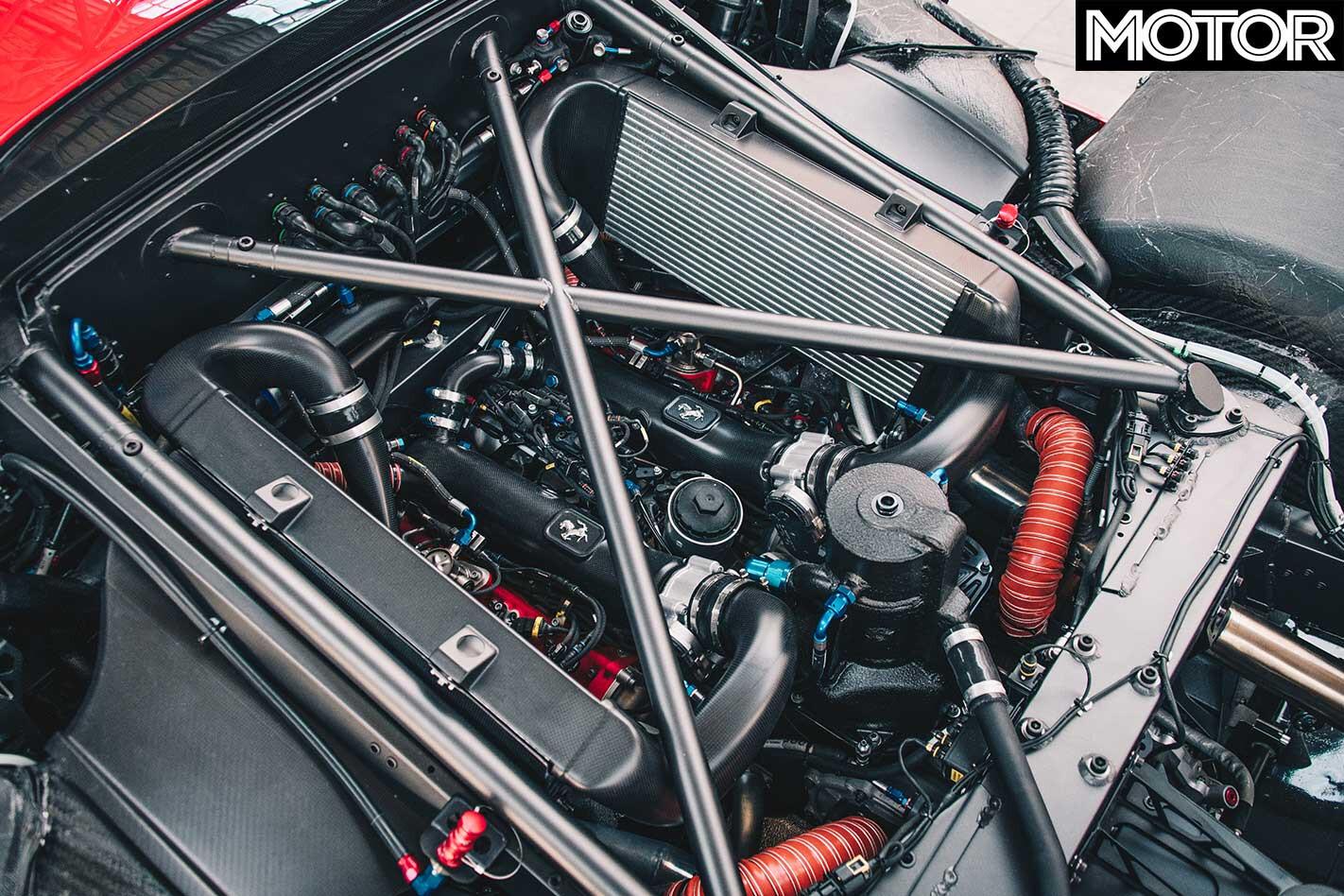 Ferrari P 80 C Engine Jpg
