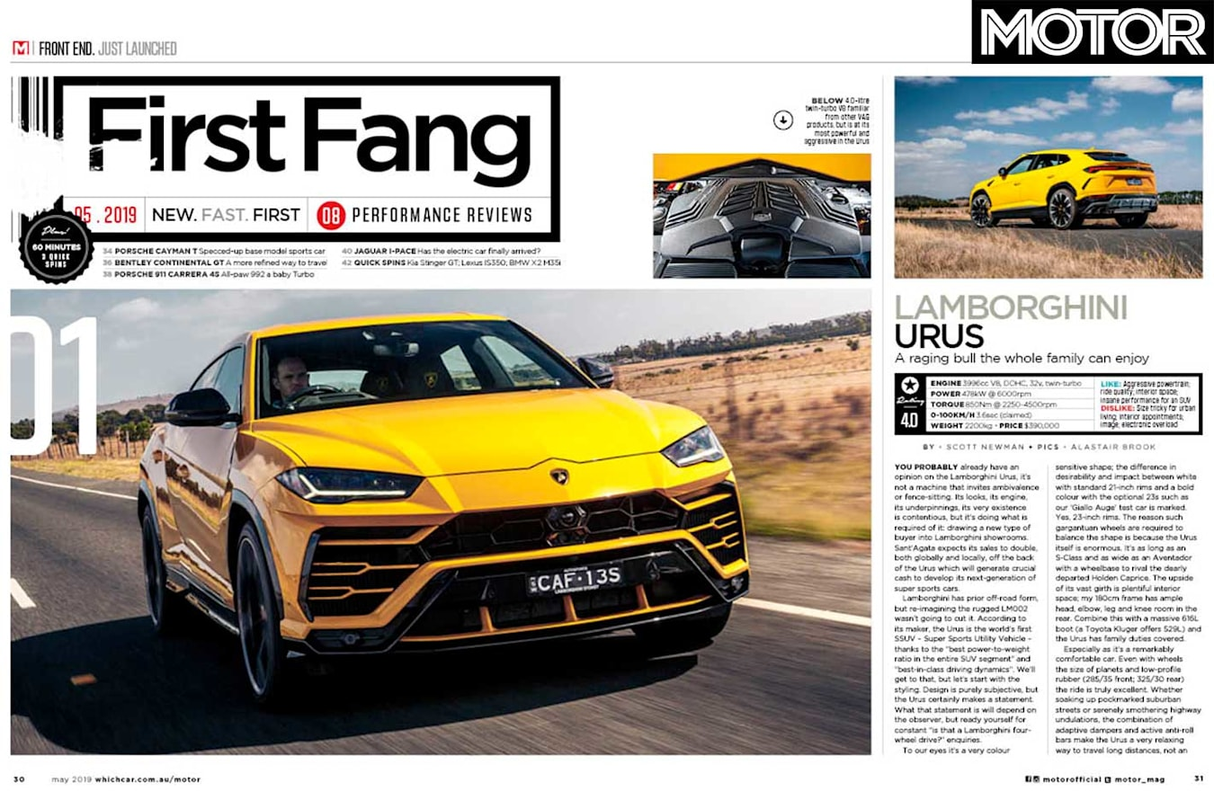 MOTOR Magazine May 2019 Issue Preview Features Jpg