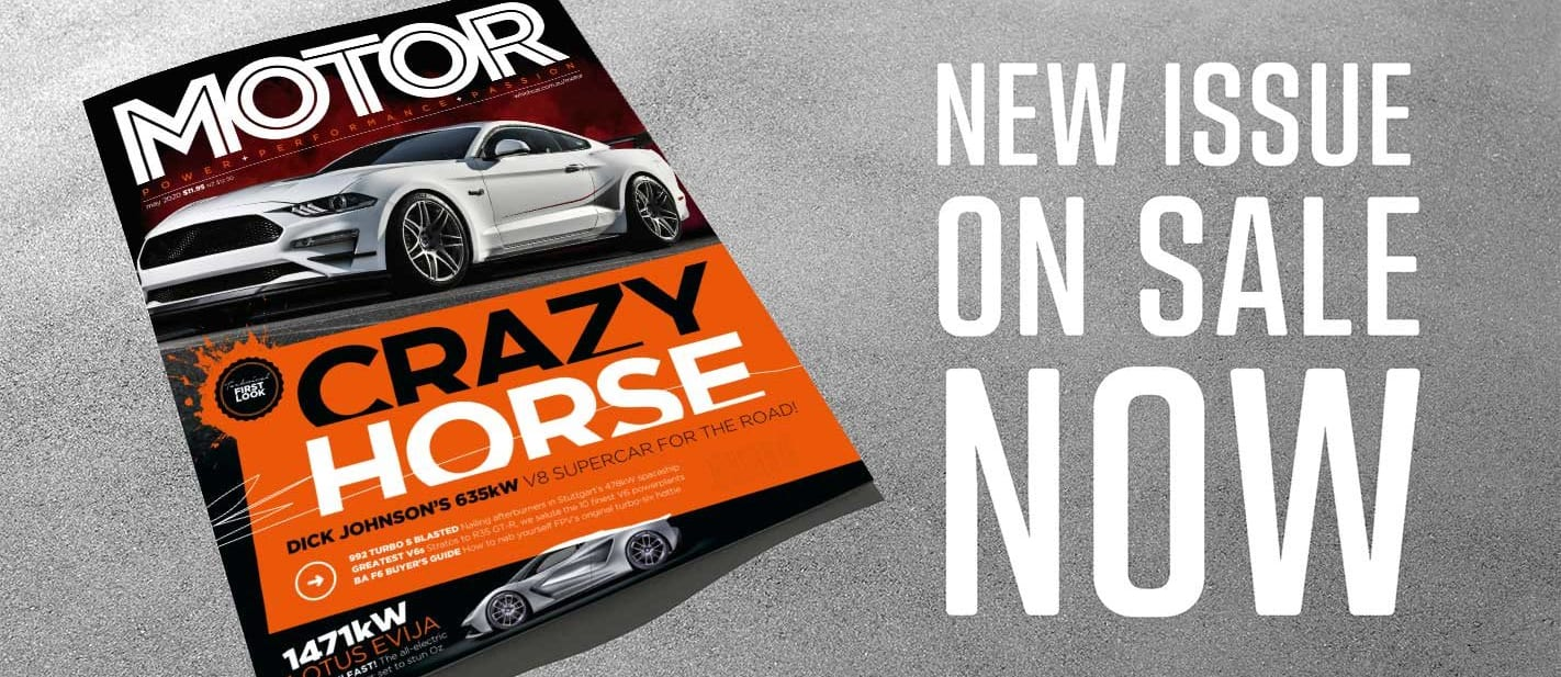 MOTOR Magazine May 2020 issue preview