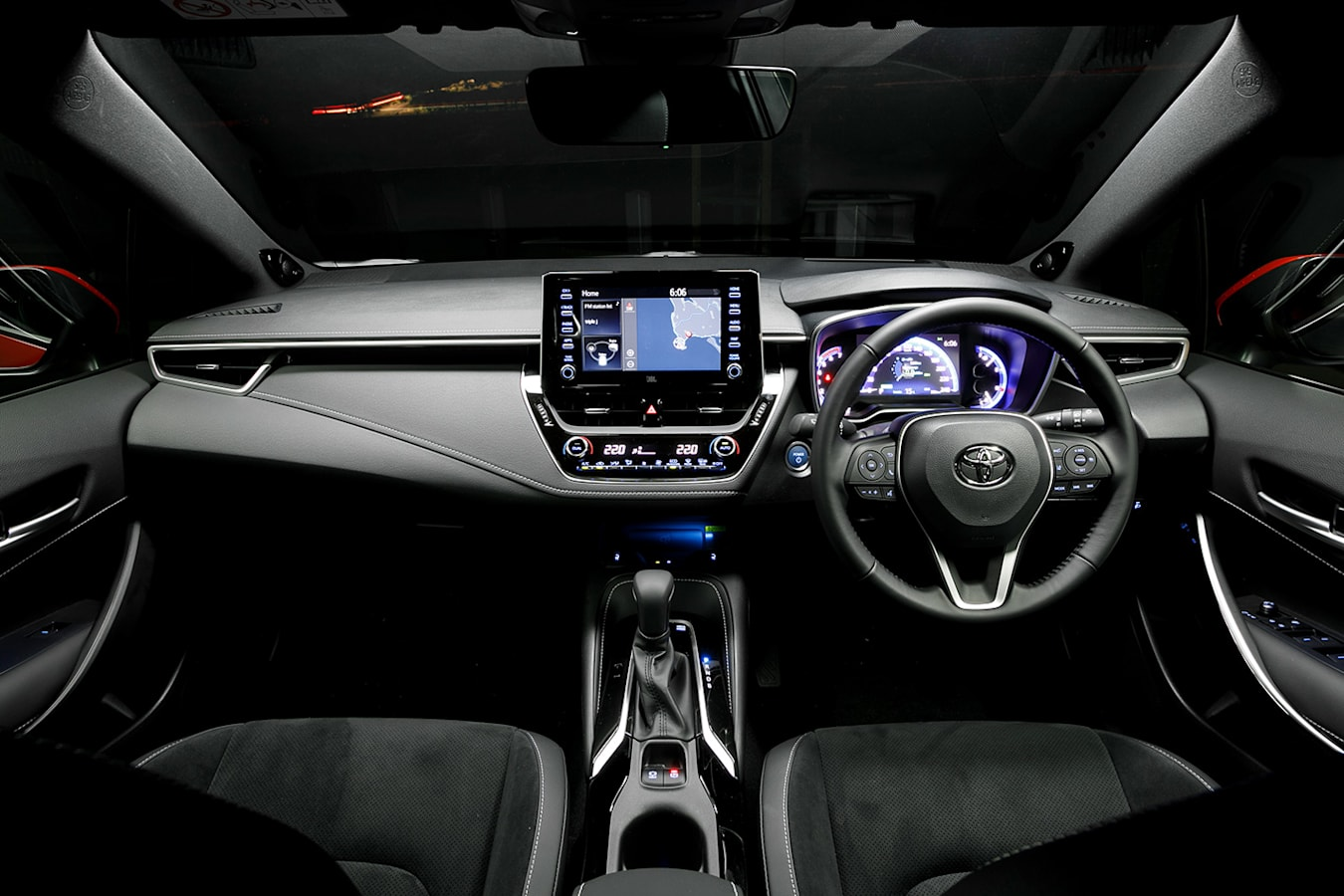 Toyota Corolla Interior Jpg