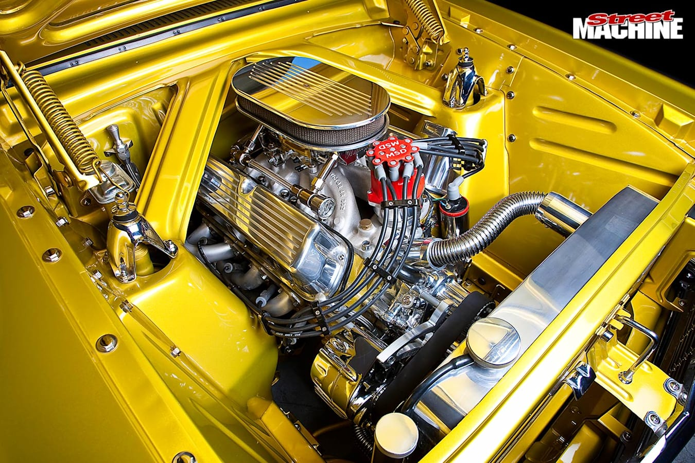 Ford Falcon XP coupe engine bay