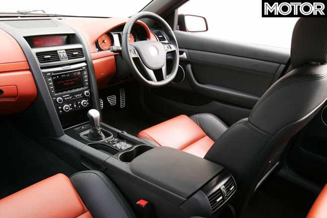 2006 Holden VE Commodore SS V Interior Jpg