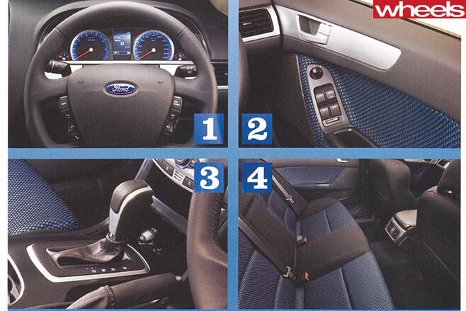 Ford -fg -falcon -interior
