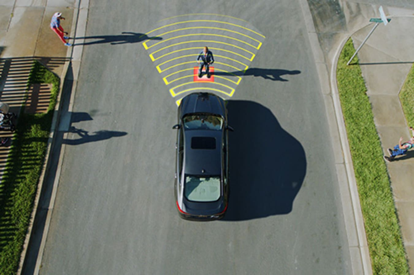 Ford's AEB Pedestrian Detection