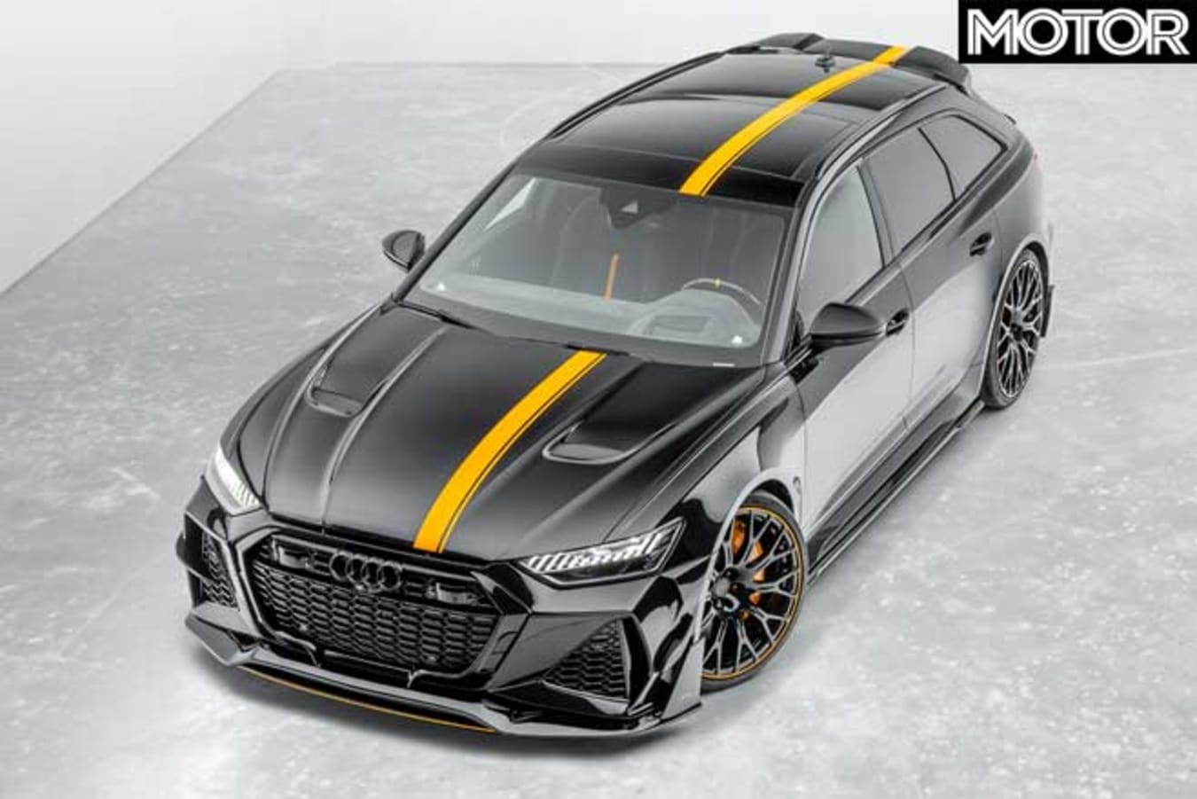 Mansory Audi RS 6 Top Front Jpg