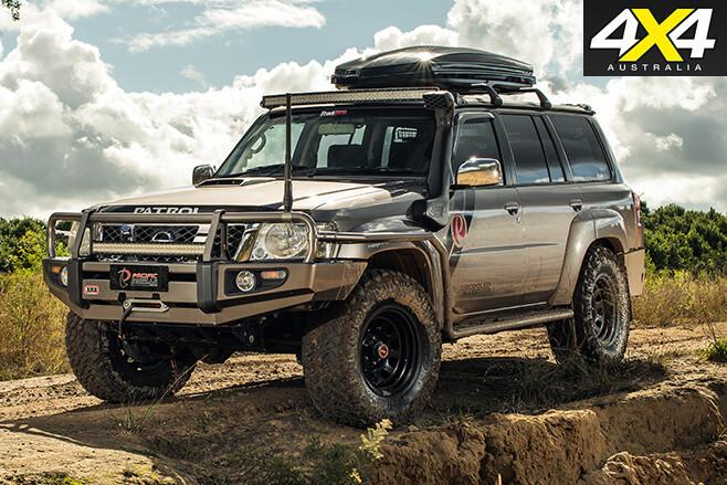 Nissan Patrol Optimizer 6500 V8 stand