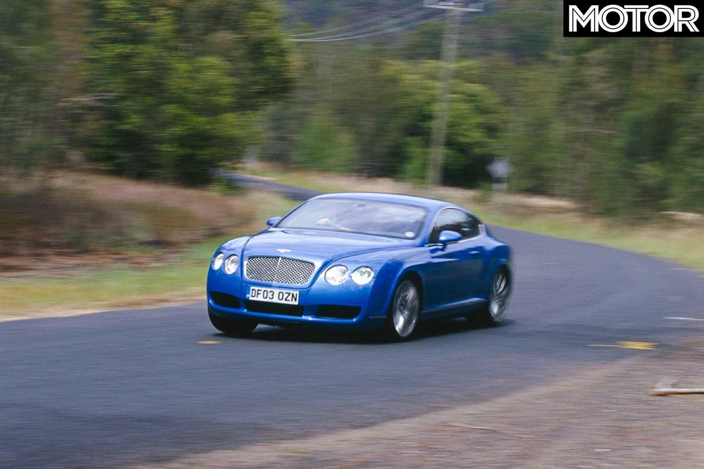 2004 Bentley Continental GT Front Handling Jpg