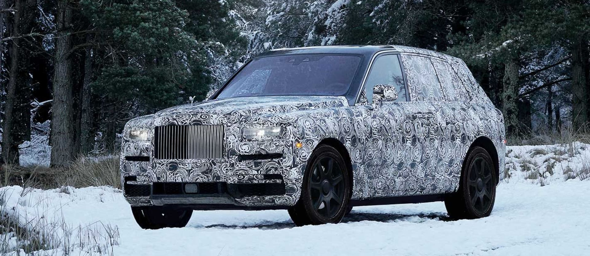 Rolls Royce SUV to be named Cullinan