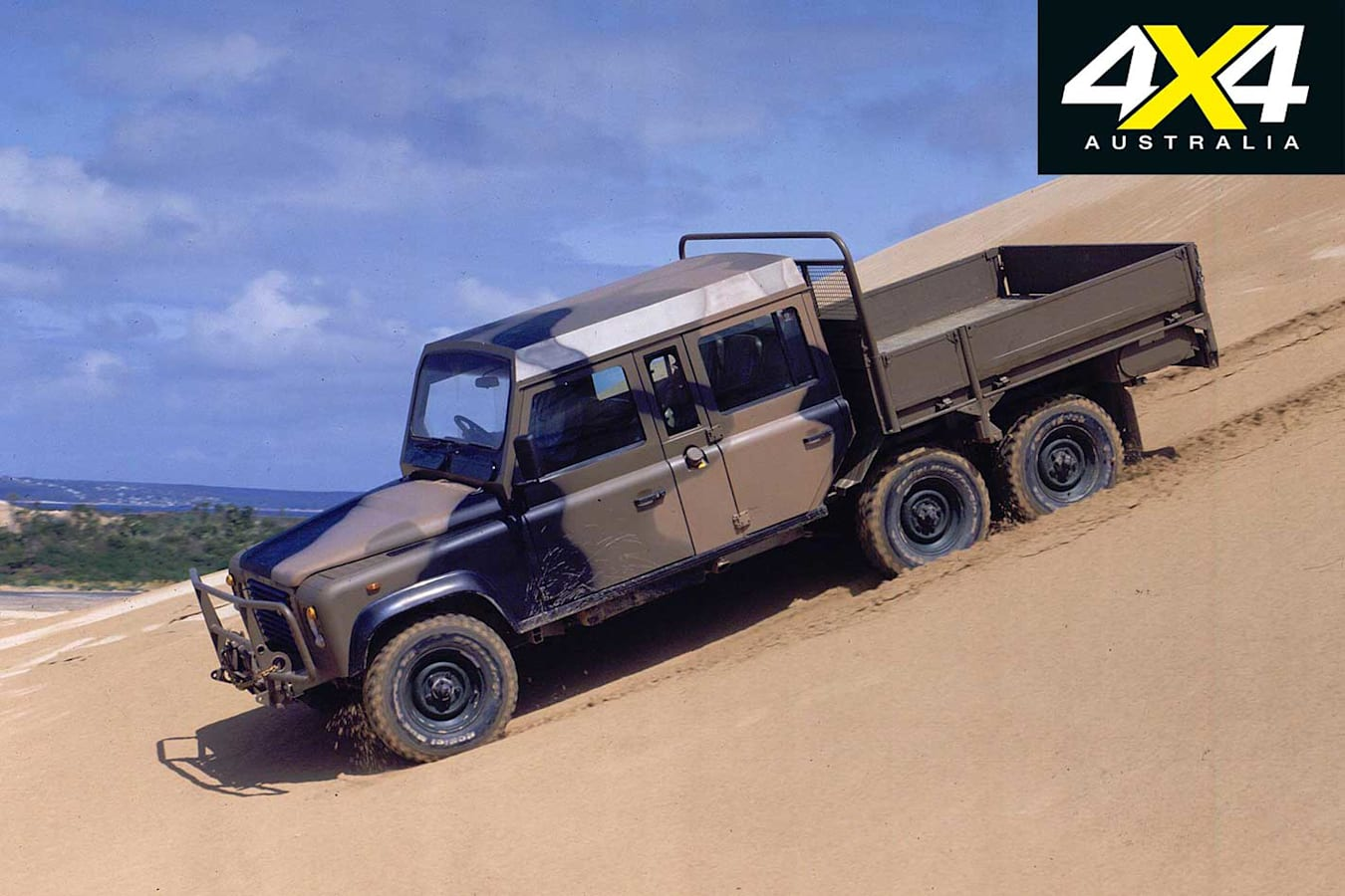 70 Years Of Land Rover 6 X 6 Military Land Rover Jpg