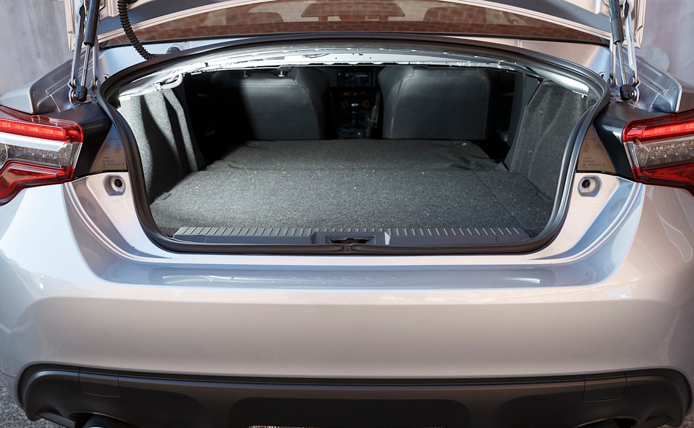Toyota 86 boot space
