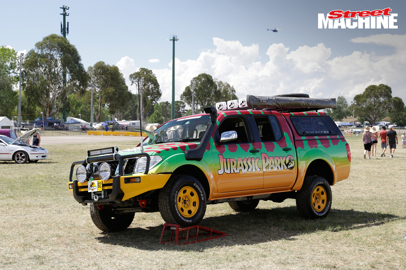 Jurassic Park Nissan Navara