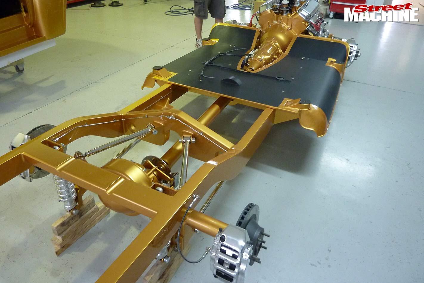 Ford F100 frame
