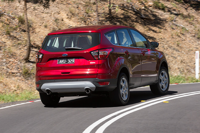 2017 Ford Escape rear