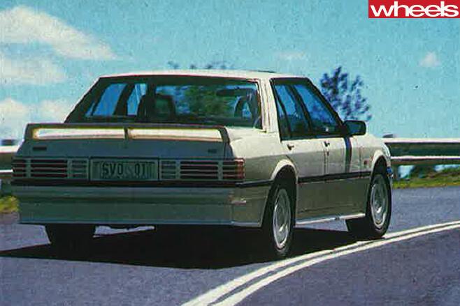 Ford -Falcon -XF-SVO-rear