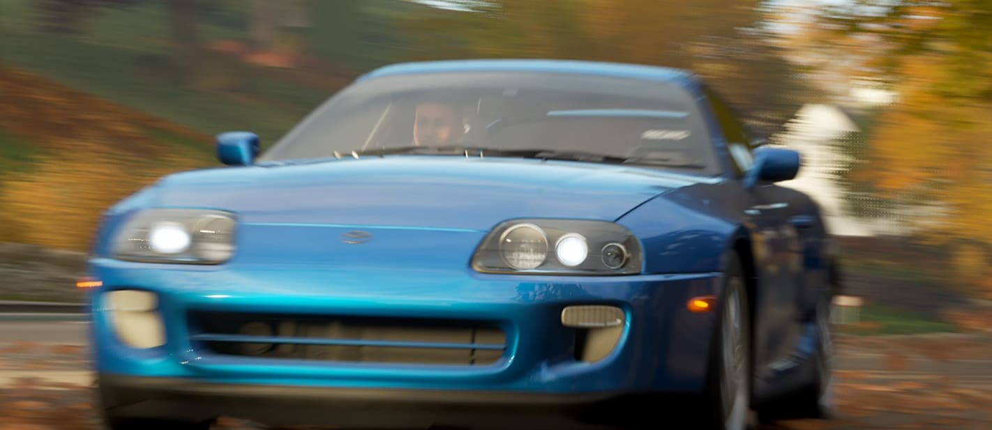 FH 4 Toyota Supra Frontaction Jpg