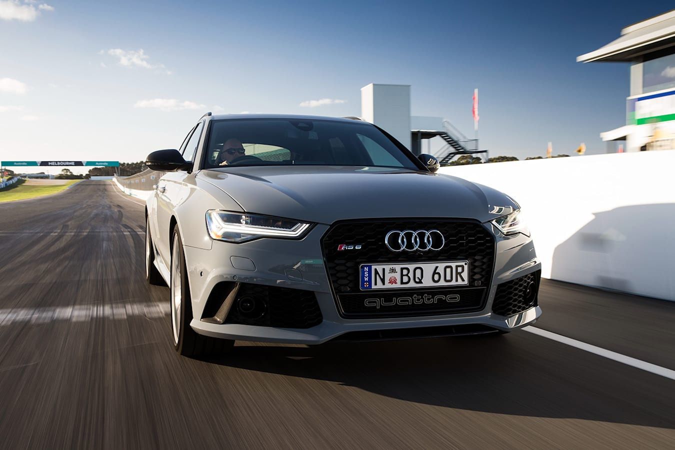 Audi RS 6 Front Jpg