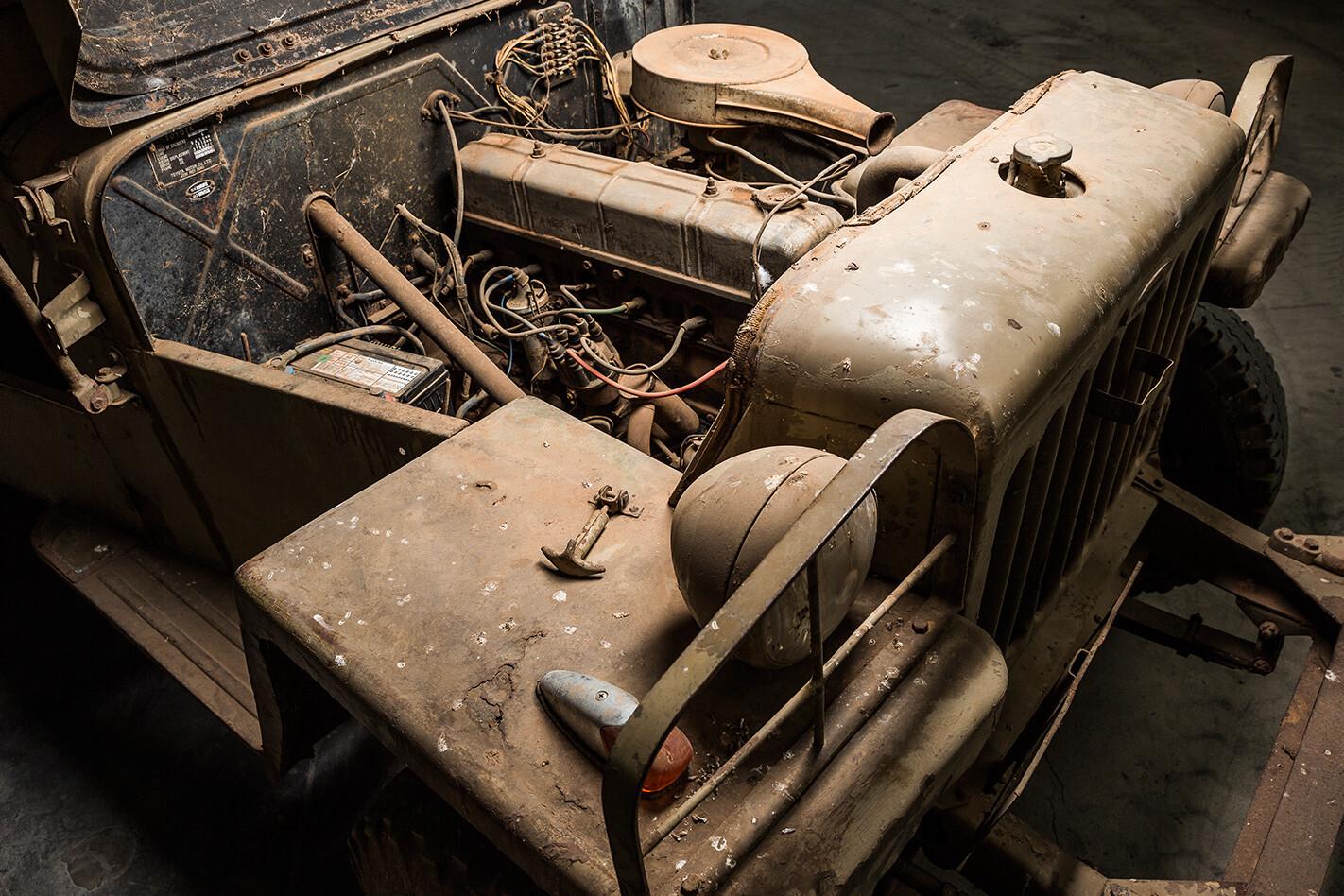 Toyota BJ FJ Land Cruiser evolution engine