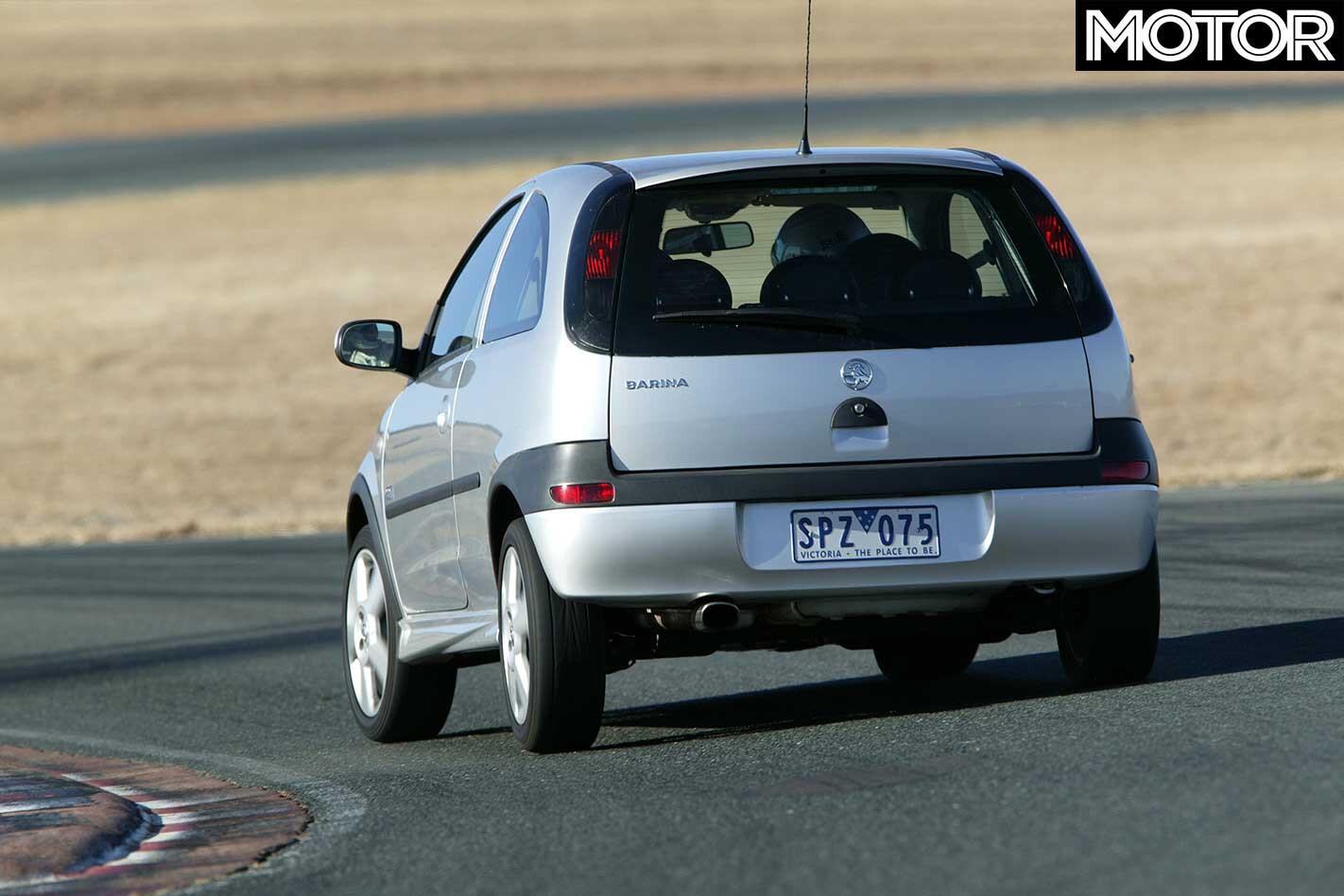 2001 Holden Barina S Ri Rear Dynamic Jpg