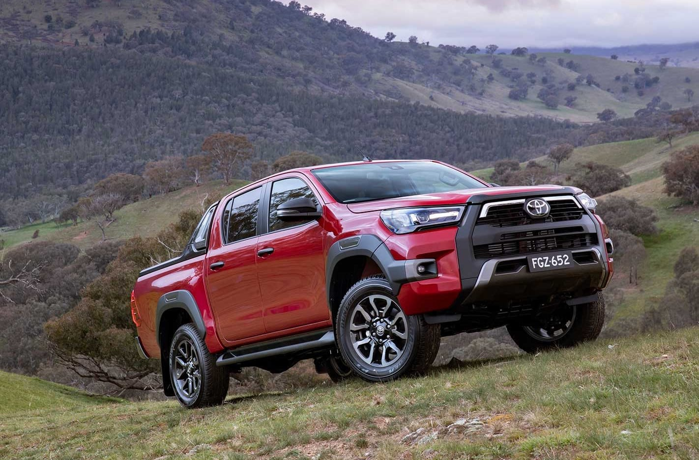 2021 Toyota Hilux Rogue and Rugged X