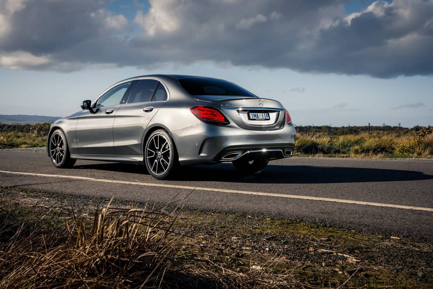Mercedes C 200 Rearend Jpg