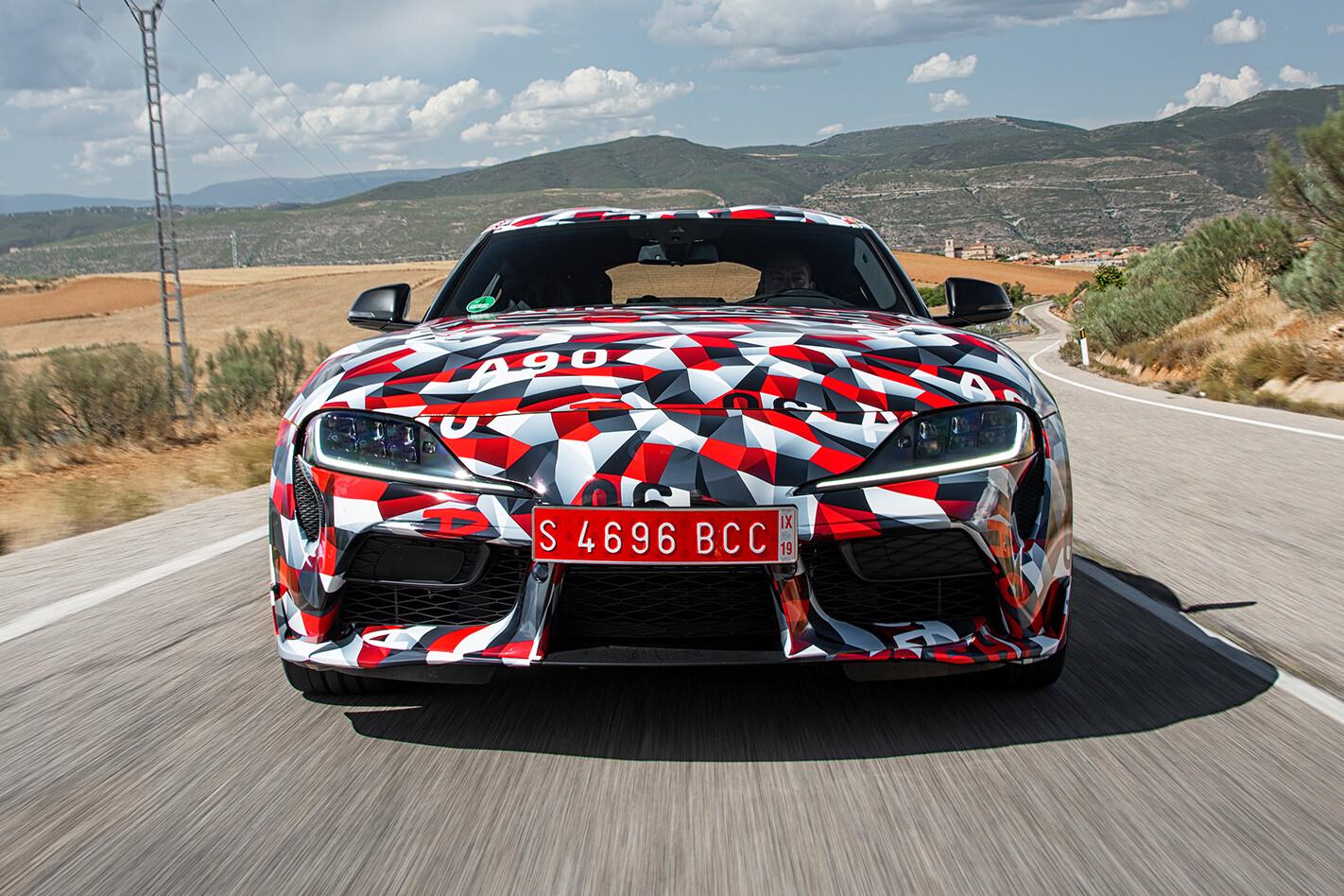 Toyota Supra Front Jpg