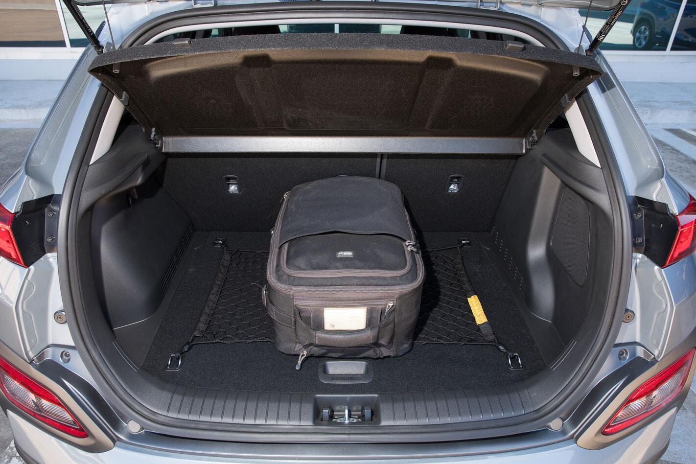 Hyundai Kona EV boot size