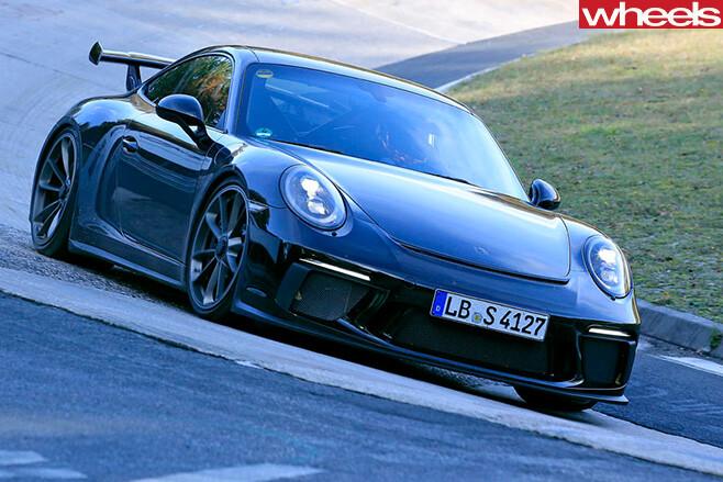 Porsche -911-gt 3-front -driving -spy