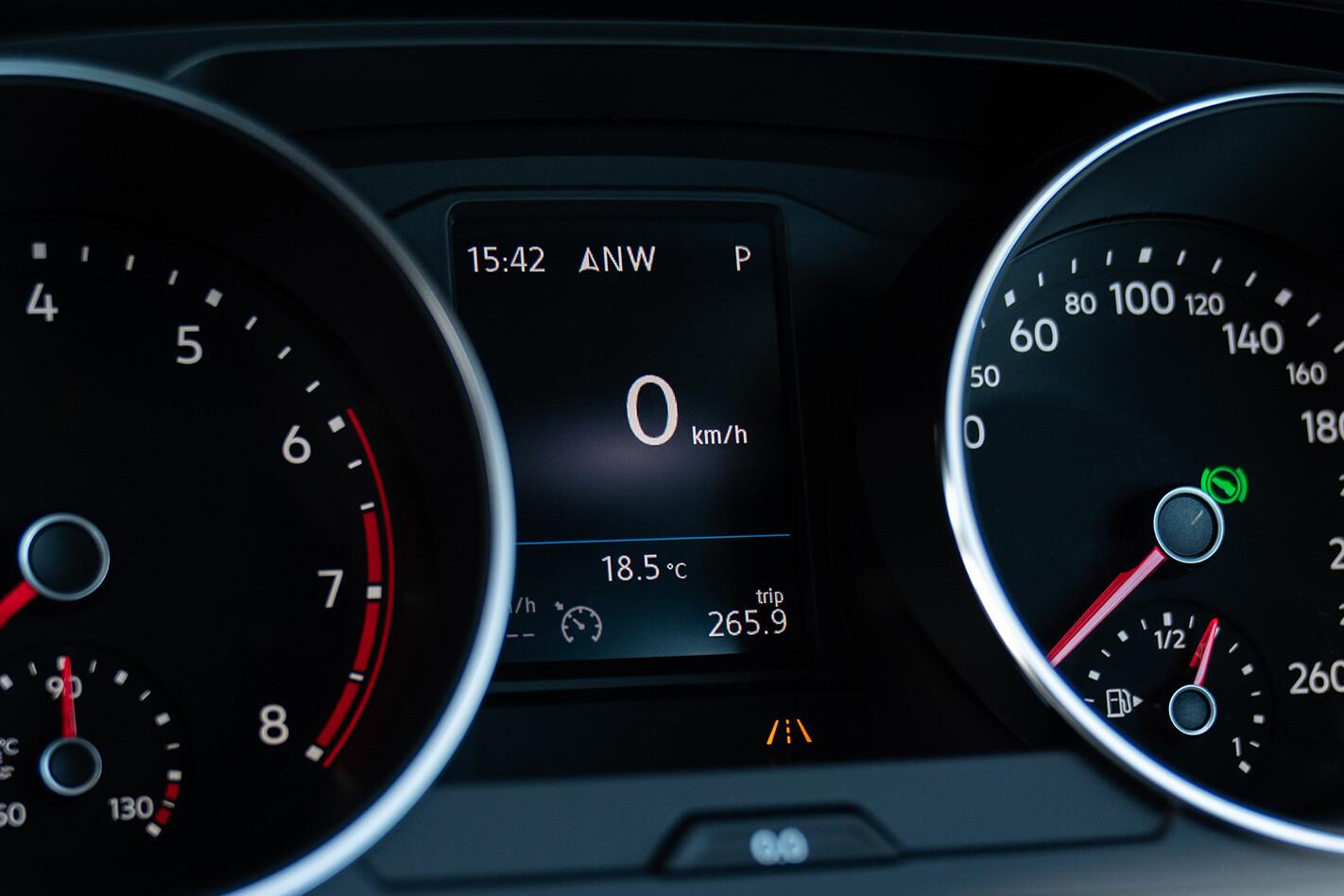 Volkswagen Tiguan gauges