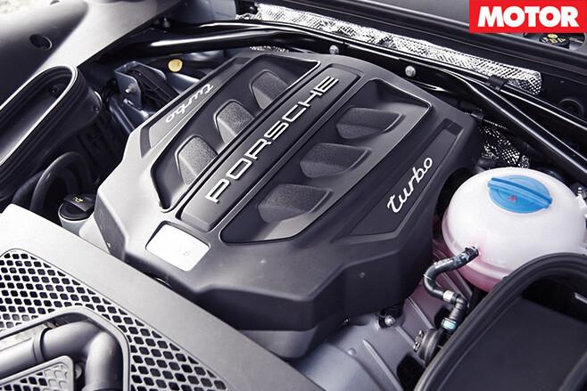 Porsche macan turbo engine