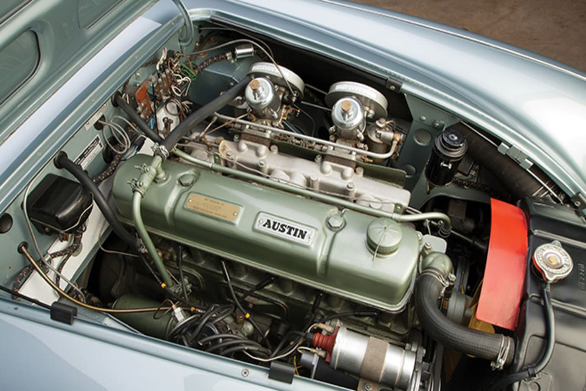1959 Austin Healey 3000 engine