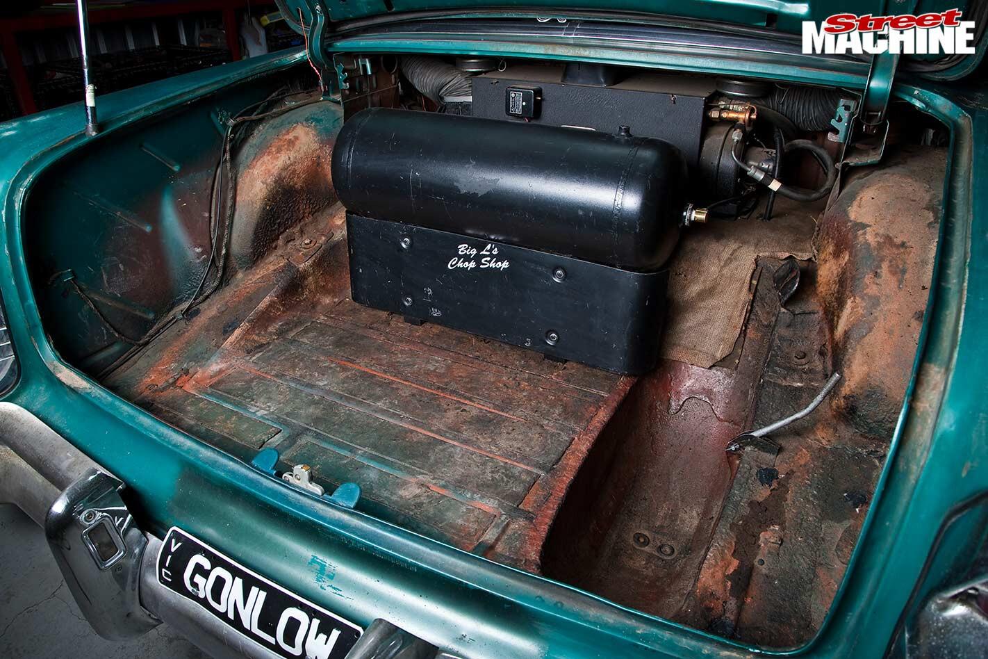 Buick Century boot
